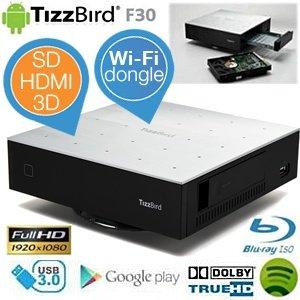TizzBird F30 MiniPC – Android Media Player mit Wifi Dongle für 55,90€