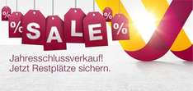 Germanwings - Jahresschlussverkauf gilt nur für Flüge vom 25. Dezember bis 5. Januar