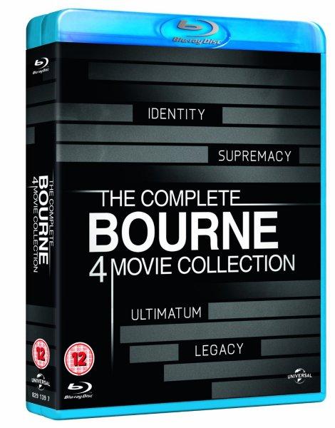 The Complete Bourne 4 Movie Collection Bluray Box für 13,89€ @Amazon.co.uk