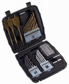 [Amazon.de / Amazon Marketplace] Bosch 45teiliges Mixed Set Titanium ab 12,92€