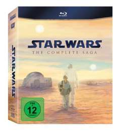 [BLU-RAY] Star Wars - The Complete Saga I-VI @ MediaMarkt.de für 59,00 EUR ( und Furious - 6 Movie Collection für 33,00 EUR)