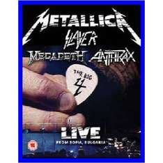 The Big Four: Live From Sonisphere / Sofia Bulgaria Blu-ray oder als DVD  Limited Deluxe Edition für je 8,97€ bei amazon