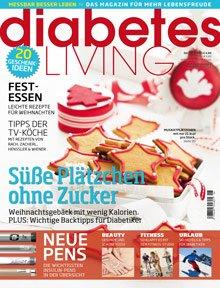 diabetes LIVING Jahresabo für 23,00€ mit 20,00€ BestChoice-Gutschein