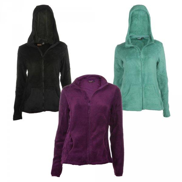 Ebay WOW des Tages: Damen Fleece Jacken in drei Farben für 12,99€
