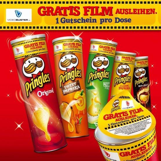 [real] Pringles inklusive Videobuster Gutschein für 1,11€