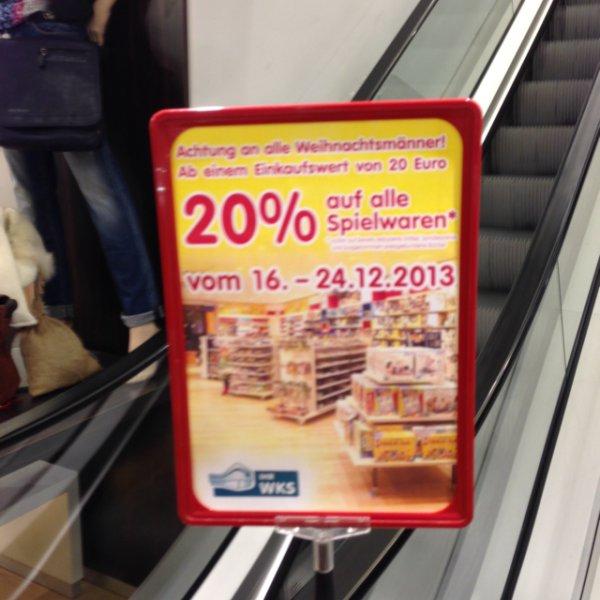 [Wolfsburg] 20% auf alle Spielwaren (inkl. LEGO)
