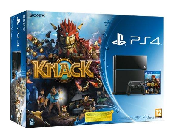 Playstation 4 inkl. Knack von Amazon.es (Spanien) - Lieferbar ab 26.12.2013 - 440,21 Euro