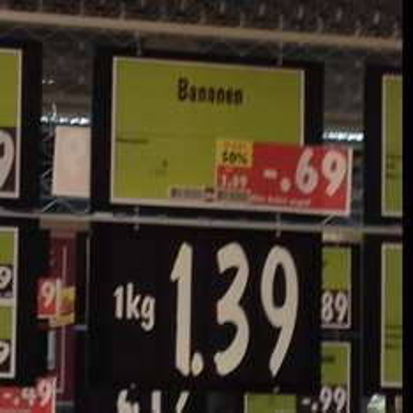 Bananen 50% billiger Kaufland HD/Rohrbach