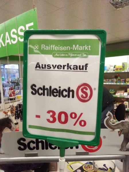 """""""Schleich""""- Ausverkauf im Raiffeisenmarkt Kempen - 30% reduziert [offline & lokal]"""