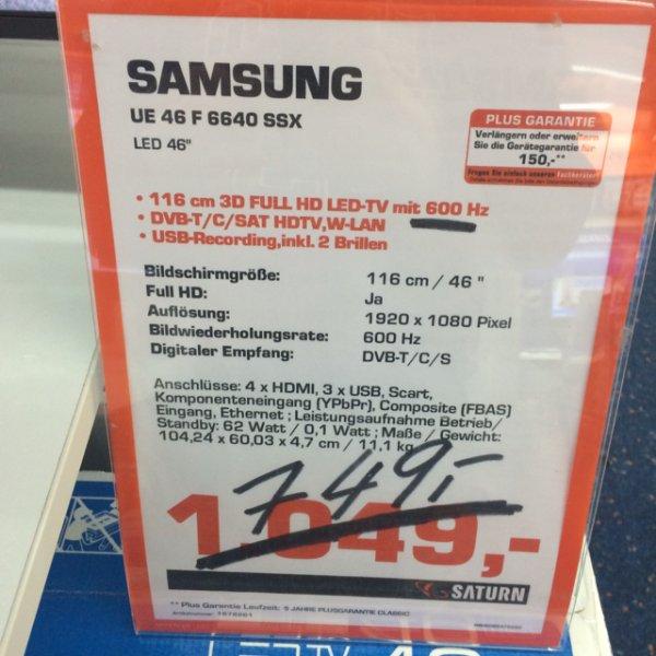Samsung UE 46 F6640 LED 3D