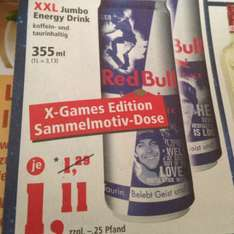 Thomas Philips Red Bull XXL Dose 355ml XGames Edition 1,11Euro