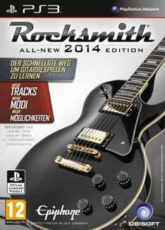 Rocksmith 2014 PS3 Version mit Kabel @Ebay