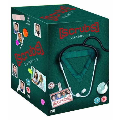 Wieder da: Scrubs Seasons 1-8 [DVD] bei Amazon UK für ca. 54 €
