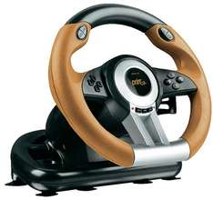Lenkrad mit Pedalen Speed-Link DRIFT O.Z. Racing Wheel USB PC Schwarz, Orange für 36,00 €