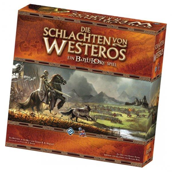 25% Rabatt auf Die Schlachten von Westeros und Addons: z.B. Hauptspiel für 38,63€ (Neukunden für 35,63€) inkl. Versand (Idealo 53,32€€)