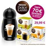NESCAFÉ® Dolce Gusto® KRUPS Piccolo Schwarz + 32 Kapseln + 10€ Web Gutschein für 29,99€ inkl. kostenlosen Versand