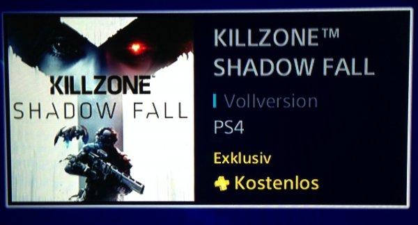 *UPDATE*Killzone: Shadow Fall PS4 Vollversion im PSN Store für PS+ Mitglieder für 0€