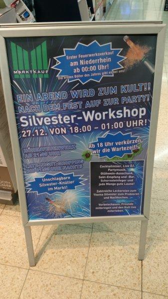 [Marktkauf Voerde] Silvester-Workshop 27.12.2o13 18.oo - o1.oo KöPi 8,88€