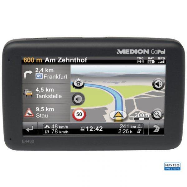 "Ebay WOW des Tages: MEDION E4460 Navigation 4,3""/10,9cm 4GB Europa TMC Bluetooth 3D USB SD für 55 €!!!"