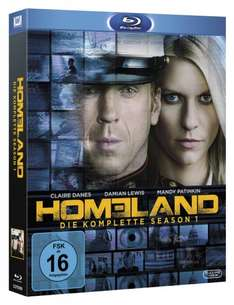 [Amazon] [Blu-Ray] Homeland - Die komplette Season 1 [Blu-ray]  o. Vsk für 19,97€