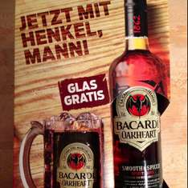 [Lokal Osnabrück] Bacardi Oakheart 0,7l + Glas für 8,88EUR