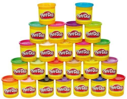 Play-Doh 24er-Pack Knet-Dosen - Mega-Pack + Play-Doh 10er-Pack Knet-Dosen - Farbenkiste für 17,93€ @mytoys.de