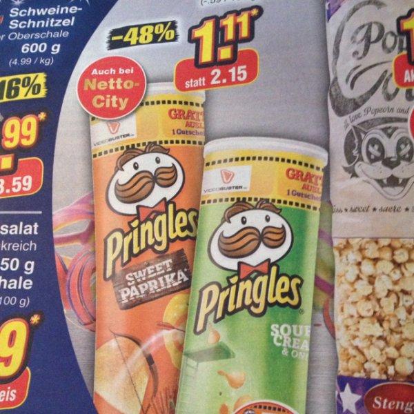 Pringles für 1,11 Euro mit Videobuster Gutschein