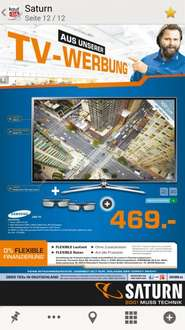 Samsung ue40f6340 LED TV @Saturn 469€