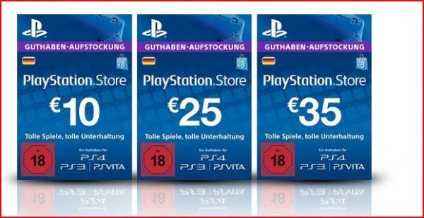 Sonderangebot: 10% Rabatt auf Microsoft Live und PlayStation Network Karten bei Amazon