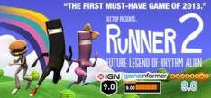 [Amazon.com, Steam] BIT.TRIP Presents... Runner2: Future Legend of Rhythm Alien für 1,86€