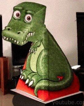 [BRUSSPUP] Last Minute Weihnachtsgeschenk - MyDealz Kroko in 3D zum Ausdrucken - freut sich die Oma bestimmt!
