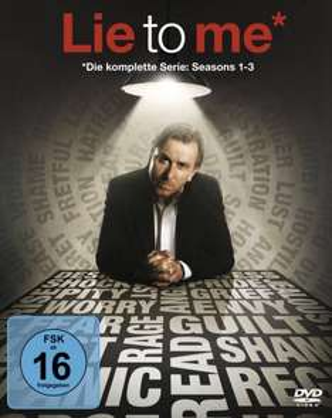Lie to Me – Die komplette Serie (14 Discs) für 19,97 €