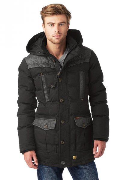 [Otto] Khujo Tokyo Winterjacke Herren schwarz (L, XL, XXL, XXXL) statt 189€