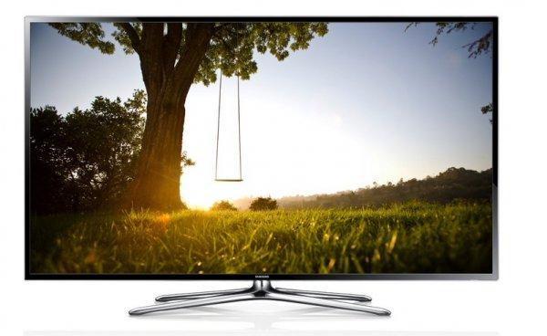 Samsung UE50F6470 126 cm (50 Zoll) 3D-LED-Backlight-Fernseher, EEK A+ (Full HD, 200Hz CMR, DVB-T/C/S2, CI+, WLAN, Smart TV, HbbTV, Sprachsteuerung)