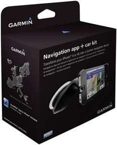 GARMIN StreetPilot iPhone Car Kit Bundle iphone 4 und 4s  [Mediamarkt Online]
