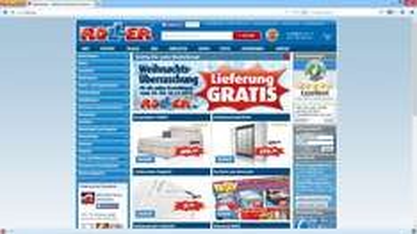 Lieferung Gratis bei online-Bestellungen bei Roller
