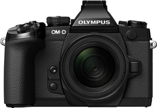 Olympus E-M1 OM-D Systemkamera inkl. M.Zuiko Digital ED 12-50mm Objektiv Kit @Amazon-Blitzdeals