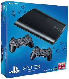 Amazon PlayStation 3 Konsole mit 2 x DualShock 3 Wireless Controller