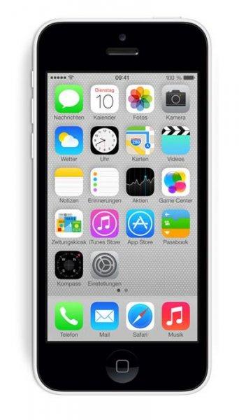 Apple iPhone 5C 16GB Otelo Allnet-Flat M Vertrag montl. 24,99€ bei Logitel