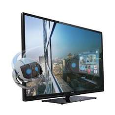 3D TV: Philips 40PFL4418K (3D LED TV, Full HD, DVB-T/C/S2, 200 Hz) für 399,- €