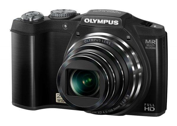 Olympus SZ-31MR Digitalkamera (16 Megapixel, 24-fach opt. Zoom,(3 Zoll), 3D Fotos , Duale Bildstabilisierung ) schwarz für 138€ @Amazon.co.uk