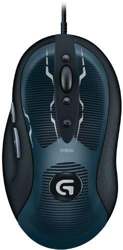 Logitech G400s optische Gaming Maus schnurgebunden - EUR 39,04 bei Amazon