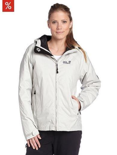 Jack Wolfskin Damen Outdoor Funktionsjacke, »Glacier« Tagesangebot für 69,99 € + Vsk. 5,95 € - weitere -  Rabattmöglichkeiten