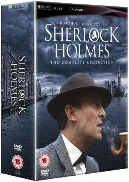 DVD - Sherlock Holmes - Complete Collection für 31,65€ @zavvi