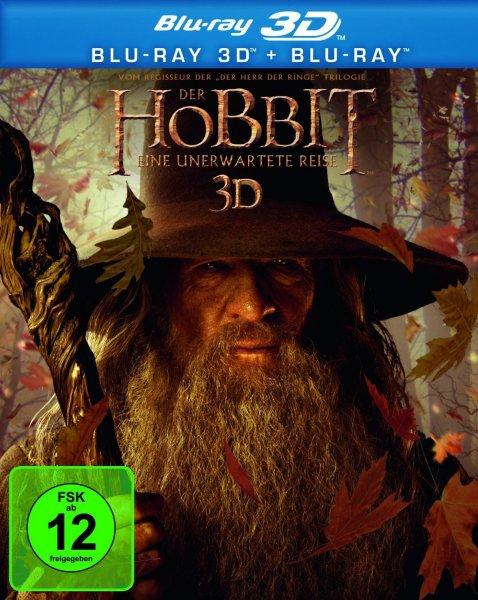 amazon.de / saturn - Der Hobbit - Eine unerwartete Reise 3D (+ Blu-ray) 14,99€