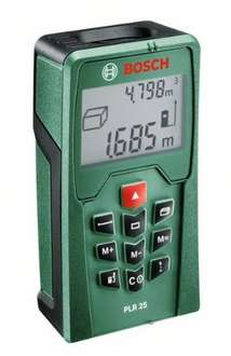 """Bosch™ - Laser-Entfernungsmesser """"PLR 25"""" (inkl.Schutztasche) für €60.- [@Amazon.de]"""