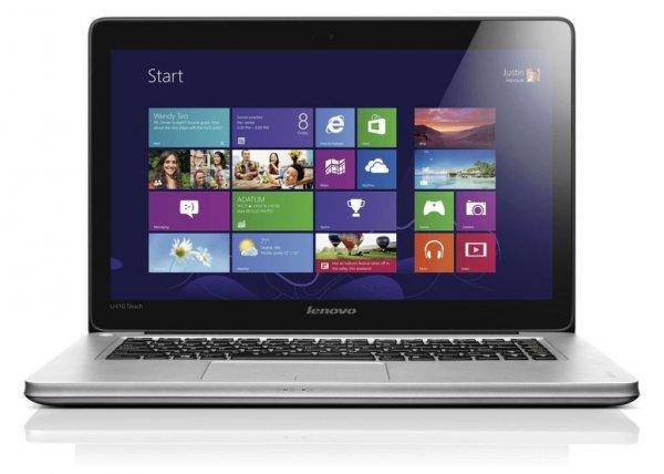Lenovo IdeaPad U410 Touch Display (i7, 4 GB Ram, Win 8, 500 GB, Bluetooth, Webcam, Nvidia) für 542€ @Amazon.co.uk