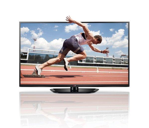 LG 50PH6608 127 cm (50 Zoll) 3D Plasma-Fernseher, EEK B (Full HD, 600Hz, DVB-T/C/S, WLAN, Smart TV) schwarz