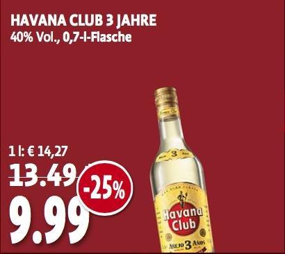 [Tengelmann]Havana Club 3 Jahre 0,7l