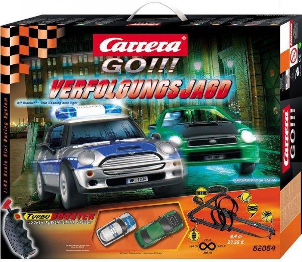 Carrera 62064 - GO!!! Verfolgungsjagd bis 18 Uhr (27.12.13) - 37,99 € [Amazon]